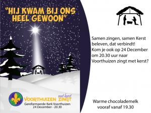 Voorthuizen zingt met Kerst 2019