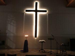 Jezus stierf aan het kruis