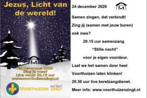 Voorthuizen zingt 20.15 ga naar www.voorthuizenzingt.nl